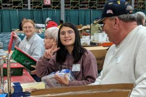 Operation Christmas Child Warehouse Volunteering